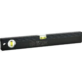 エビス EBiSU 磁石付ベーシックレベルブラック380mm ブラック/グリーン ED38MB