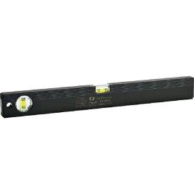 エビス EBiSU 磁石付ベーシックレベルブラック450mm ブラック/グリーン ED45MB