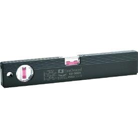 エビス EBiSU 磁石付ベーシックレベルブラック 300mm ブラック/レッド ED30MBR