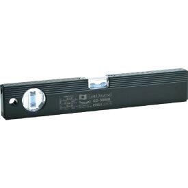 エビス EBiSU 磁石付ベーシックレベルブラック 300mm ブラック/ブルー ED30MBBL