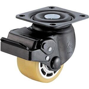 ハンマーキャスターセールス HAMMER CASTER 低床式重荷重用自在SP付ウレタン車B入り75mm 545SBAU75BAR01