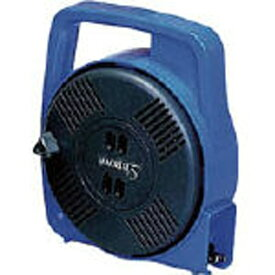 ハタヤリミテッド HATAYA マックリール 単相100V 8m 手動巻 ブルー MS8B《※画像はイメージです。実際の商品とは異なります》