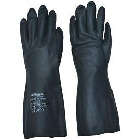 ダンロップ DUNLOP 耐油・耐溶剤手袋サミテックCR-F-07 M ダークブルー 4488