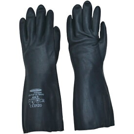 ダンロップ DUNLOP 耐油・耐溶剤手袋サミテックCR-F-07 L ダークブルー 4489