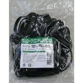 高木綱業 TAKAGI ゴムロープ エンドレスタイプ 10mm×50〜65cm 10本入り 362422