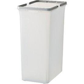 山崎産業 (屋内用屑入)リサイクルトラッシュ SKL-70(ボディー) コンドル グレー(半透明) YW453LPC [70L]
