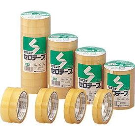 積水化学工業 SEKISUI セロテープ10P C252×24 (1パック10Pk)《※画像はイメージです。実際の商品とは異なります》