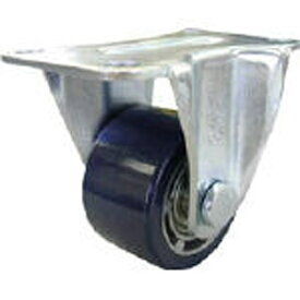 ユーエイキャスター YUEI CASTER 重量用キャスター 固定車 75径 アルミホイルウレタン車輪 HR75AU