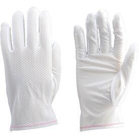 トラスコ中山 組立検査用低発塵メッシュ手袋 L DPM128L (1袋10双)