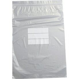 トラスコ中山 チャック付ポリ袋 (白枠付き) 0.04mm厚 340×240mm TCBWJ4TM (1袋100枚)