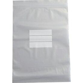 トラスコ中山 チャック付ポリ袋 (白枠付き) 0.08mm厚 280×200mm TCBWI8TM (1袋100枚)