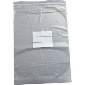 トラスコ中山 チャック付ポリ袋 (白枠付き) 0.08mm厚 400×280mm TCBWK8TM (1袋100枚)