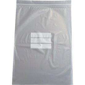 トラスコ中山 チャック付ポリ袋 (白枠付き) 0.08mm厚 480×340mm TCBWL8TM (1袋100枚)