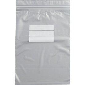 トラスコ中山 チャック付ポリ袋 (白枠付き) 0.04mm厚 170×120mm TCBWF4TM (1袋100枚)