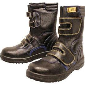 おたふく手袋 OTAFUKU GLOVE 安全シューズ静電半長靴マジックタイプ 25.5cm JW773255