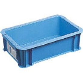 DICプラスチック ディーアイシープラスチック DA型コンテナ ボックス型 外寸:W326×D204×H100 黄 DA5《※画像はイメージです。実際の商品とは異なります》