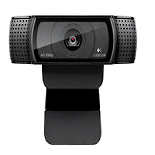 【送料無料】 ロジクール WEBカメラ[USB・300万画素] Logicool HD Pro Webcam C920r(ブラック) C920r[C920R]
