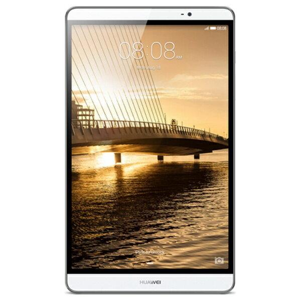 【送料無料】 HUAWEI [LTE対応]MediaPad M2 8.0[Androidタブレット・SIMフリー]M2-802L(2015年最新モデル・シルバー)[M2802L]【hua1204_mp3】