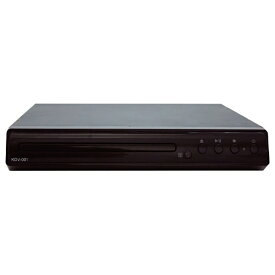 TMIジャパン TMI JAPAN KDV-001 DVDプレーヤー ブラック [再生専用] ブラック KDV-001 [再生専用][KDV001]