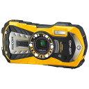 【送料無料】 リコー コンパクトデジタルカメラ RICOH WG-40(イエロー)[WG40YW]