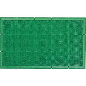 山崎産業 (屋外用マット)エバックサンステップマット #1 緑 F1311