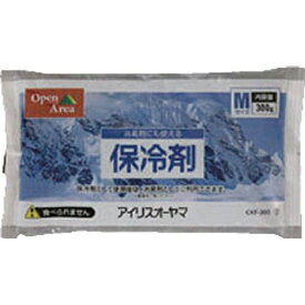 アイリスオーヤマ IRIS OHYAMA 保冷剤ソフト(Mサイズ)CKF-300[CKF300]
