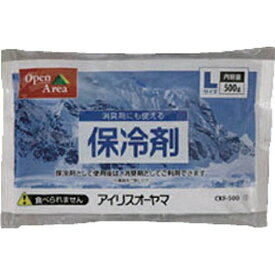 アイリスオーヤマ IRIS OHYAMA 保冷剤ソフト(Lサイズ)CKF-500[CKF500]