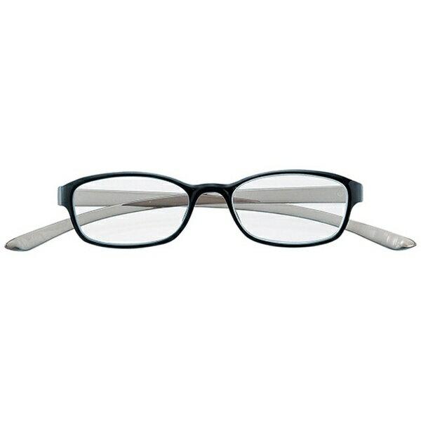 名古屋眼鏡 老眼鏡 カカル 4810(ブラック×グレー/+2.50)