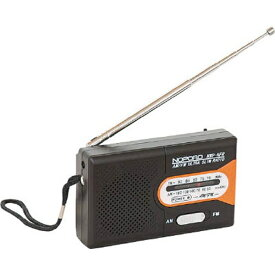 ナカバヤシ Nakabayashi ナカバヤシ 水電池付 AM/FMラジオ