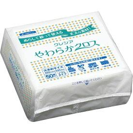 日本製紙クレシア crecia やわらかクロス 50枚×18パック 65200