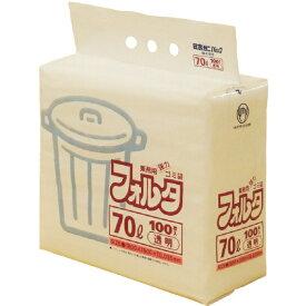 日本サニパック SANIPAK F-7C環優包装70L透明 F7CCL (1袋100枚)