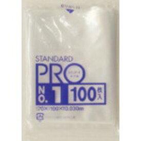 日本サニパック SANIPAK スタンダートポリ袋1号 (0.03mm) L01 (1袋100枚)