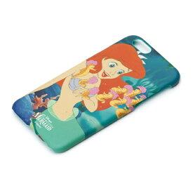 PGA iPhone 6s/6用 ハードケース ラバーコート ディズニー・アリエル PG-DCS024[PGDCS024]