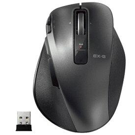 エレコム ELECOM M-XGL20DLBK マウス M-XGL20DLシリーズ Lサイズ ブラック [レーザー /8ボタン /USB /無線(ワイヤレス)][MXGL20DLBK]