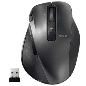エレコム ELECOM M-XGM20DLBK マウス M-XGM20DLシリーズ Mサイズ ブラック [レーザー /8ボタン /USB /無線(ワイヤレス)][MXGM20DLBK]