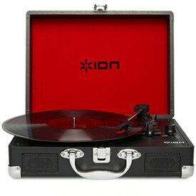 IONAUDIO PC接続・iOS直接録音対応レコードプレーヤー(充電池内蔵・スピーカー搭載) Vinyl Motion IATTS018[IATTS018]