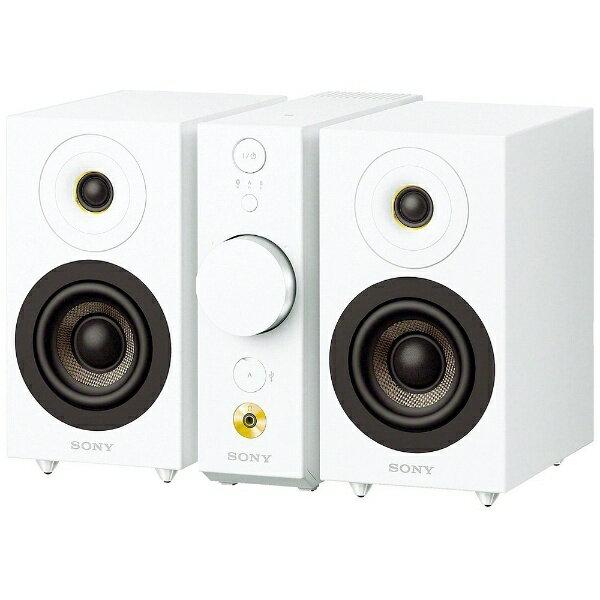 ソニー SONY CAS-1 WC ブルートゥース スピーカー ホワイト [Bluetooth対応][CAS1]
