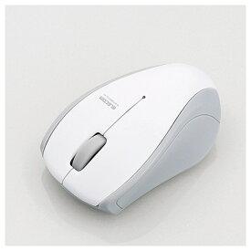 エレコム ELECOM マウス ホワイト M-BT15BRSWH [無線(ワイヤレス) /IR LED /3ボタン /Bluetooth ][MBT15BRSWH]【rb_pcacc】