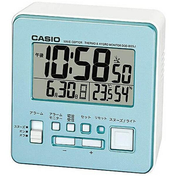 カシオ CASIO 電波目覚まし時計 DQD-805J-2JF[DQD805J2JF]