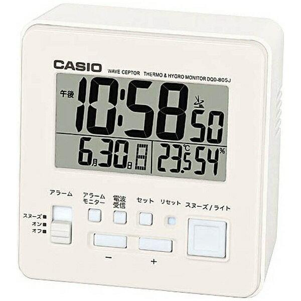 カシオ CASIO 電波目覚まし時計 DQD-805J-7JF[DQD805J7JF]