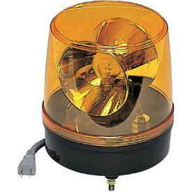 つくし工房 TSUKUSHI KOBO 回転灯 黄色 AC100V 6250Y