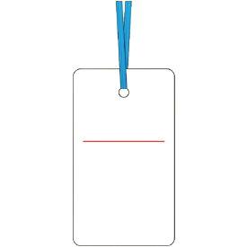 つくし工房 TSUKUSHI KOBO ケーブルタグ 荷札式 白無地 両面印刷 ビニタイ付き 30E