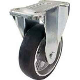 ユーエイキャスター YUEI CASTER 産業用キャスター固定車 150径アルミホイルゴム車輪 PMR150AW