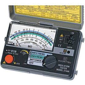 共立電気計器 KYORITSU 2レンジ小型絶縁抵抗計 MODEL3144A