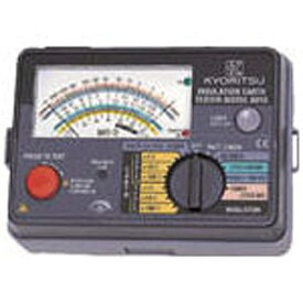 共立電気計器 KYORITSU アナログ式絶縁・接地抵抗計 MODEL6018