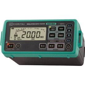 共立電気計器 KYORITSU デジタル絶縁・接地抵抗計(スタンダードモデル) KEW6022