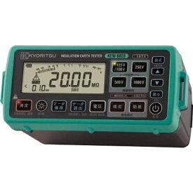 共立電気計器 KYORITSU デジタル絶縁・接地抵抗計(メモリ機能付モデル) KEW6023