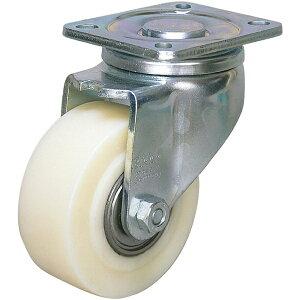 シシクアドクライス SISIKU 低床重荷重用キャスター 自在 80径 GSPO車輪 LHGSPO80K
