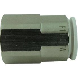 千代田通商 CHIYODA TSUSHO ファイブフィメイルコネクタ W(白)10mm・RC1/4 F1002FW