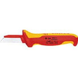 KNIPEX社 クニペックス 絶縁電工ナイフ 180mm 9854